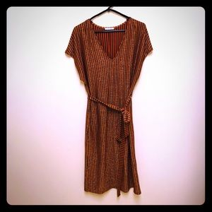 WORN ONCE! Zara dress. Like New! Large size